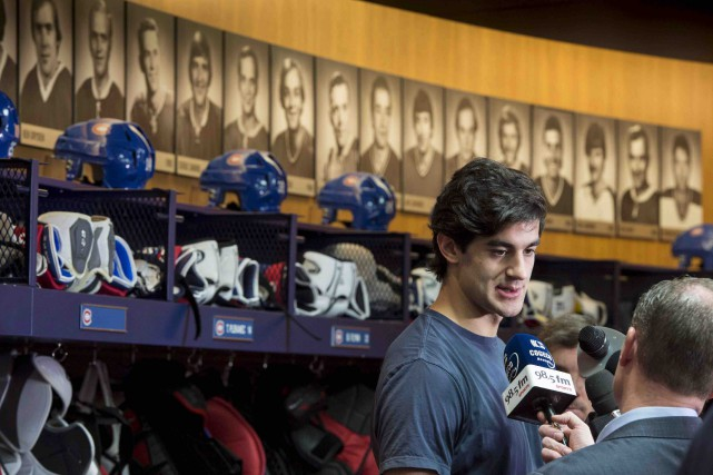 À la demande du capitaine Max Pacioretty, quelques... (Paul Chiasson, Archives PC)