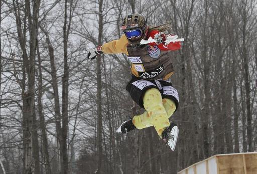 Le projet de piste permanente de patinage de descente extrême (Ice cross...
