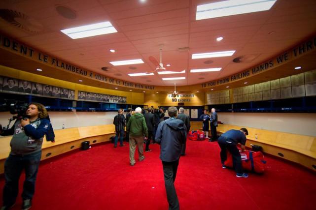Une demi-douzaine de joueursdu Canadienont changé de casier... (Photo André Pichette, Archives La Presse)