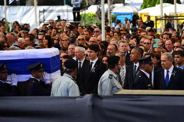 Le premier ministre du Canada, Justin Trudeau, au... (Photo Kobi Gideon, ap)