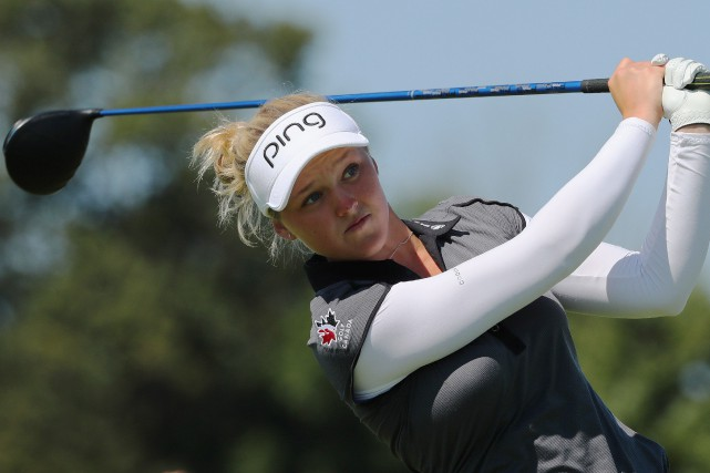 Brooke Henderson... (Photo Dave Chidley, archives PC)