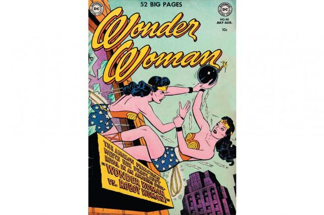 L'auteur de la version récente des bandes dessinées Wonder Woman a... (CAPTURE D'ÉCRAN)