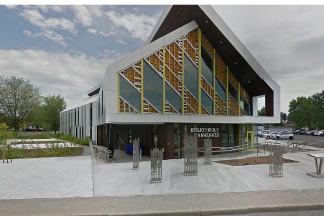 La bibliothèque Jacques-Lemoyne-de-Sainte-Marie, est la première bibliothèque à... (Google Maps)