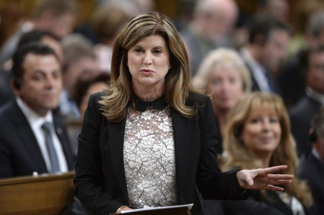 La chef par intérim du Parti conservateur Rona Ambrose... (PHOTO SEAN KILPATRICK, ARCHIVES PC)