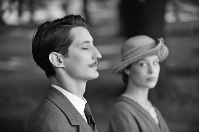 Pierre Niney et Paula Beer dans Frantz.... (Photo fournie par Mandarin Films)