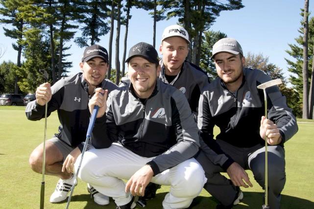 Les golfeurs des Patriotes qui prendront part au... (Sylvain Mayer)