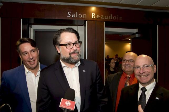 Le ministre David Heurtel a confirmé vendredi l'émission... (Sylvain Mayer)