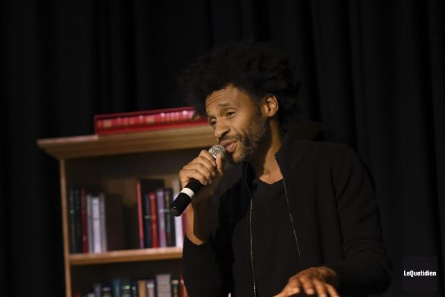 Franck Sylvestre est l'auteur du livre jeunesse L'incroyable... (Photo Le Quotidien, Rocket Lavoie)