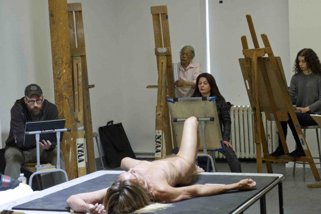 Les nus d'Iggy Pop (Elena Olivo © Brooklyn Museum)