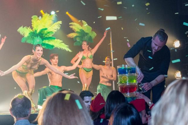 La Coco Fiesta propose aux spectateurs l'équivalent d'un... (Photo courtoisie)