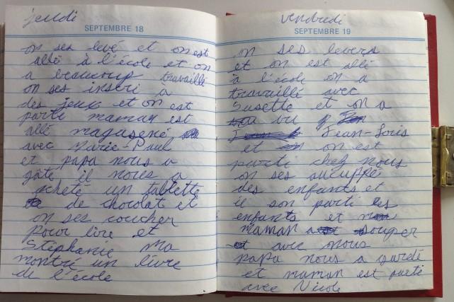 CHRONIQUE / Tout au long de mon enfance, avec sa garderie à la maison, ma mère... (Photo Le Progrès-Dimanche, Mélissa Viau)