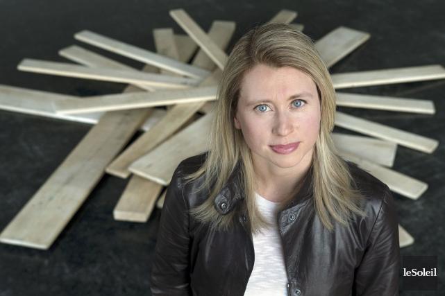 La chorégraphe Karine Ledoyen, qui a fondé la... (Photothèque Le Soleil)