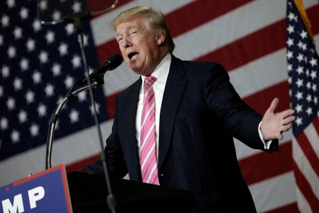 Donald Trump pourrait avoir évité de payer des... (Photo Mike Segar, REUTERS)