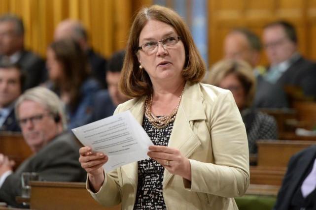 La ministre fédérale de la Santé, Jane Philpott,... (PHOTO SEAN KILPATRICK, LA PRESSE CANADIENNE)