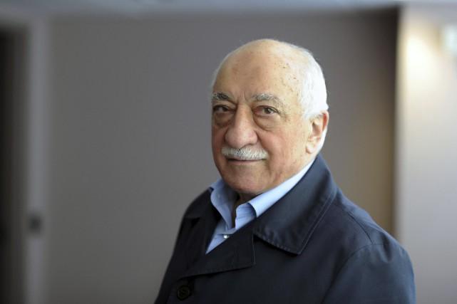 Le prédicateur exilé aux États-Unis Fethullah Gülen, désigné... (Photo archives AFP)