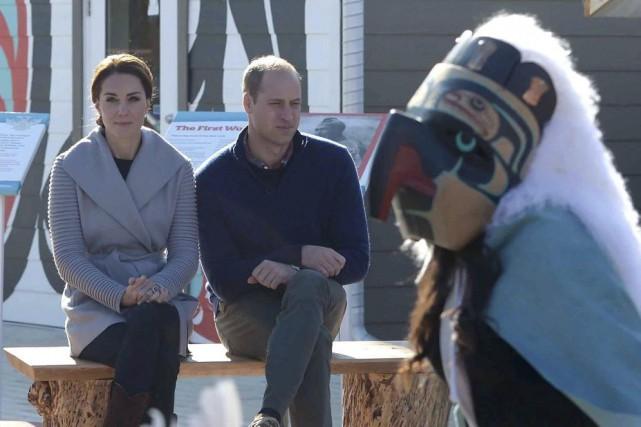 Le prince William et Kate Middleton ont assisté... (Photo Jonathan Hayward, archives La Presse Canadienne)