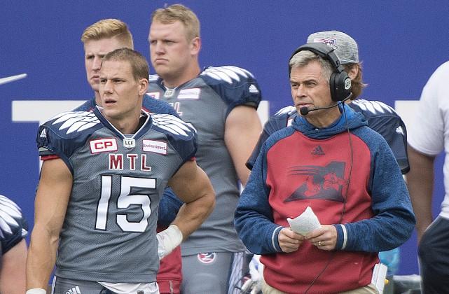 Le nouvel entraîneur-chef des Alouettes de Montréal, Jacques... (La Presse Canadienne, Graham Hugues)