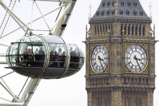 Ouverte au public depuis mars 2000, cette roue... (Photo Anna Branthwaite, AP)