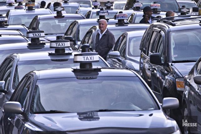 Le Front commun du taxi appelle tous les... (Archives La Presse)