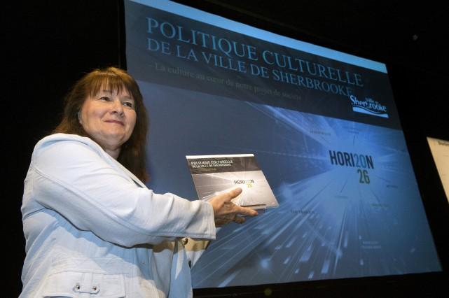Nicole A. Gagnon, conseillère municipale et membre du... (Spectre Média, Maxime Picard)