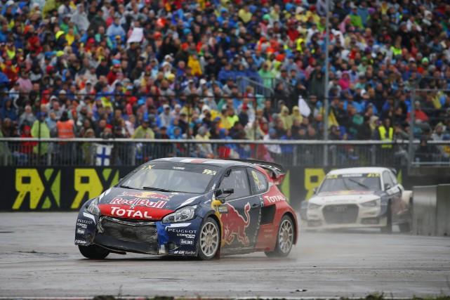 Sébastien Loeb a mérité sa première victoire en... (FIA World Rallycross)