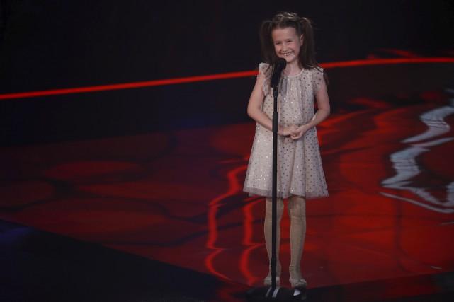 Plus jeune candidate de la soirée, Annabelle Huot,... (fournie par TVA)