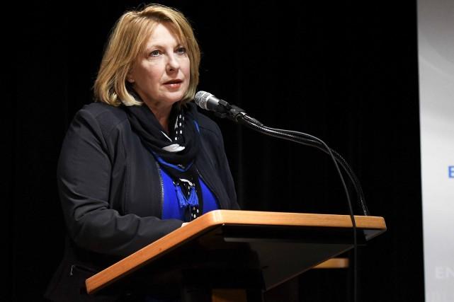 La ministre Christine Saint-Pierre prédit que les enjeux... (Photothèque Le Soleil)