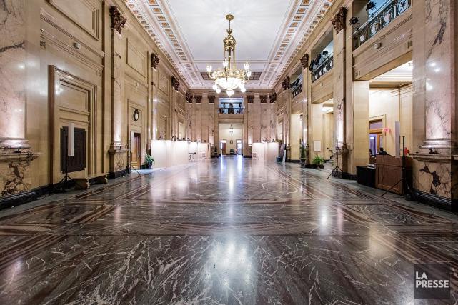 L'hôtel de ville de Montréal.... (PHOTO EDOUARD PLANTE-FRECHETTE, ARCHIVES LA PRESSE)