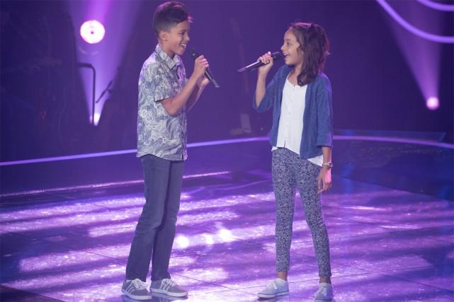 Je ne sais pas si j'aurai autant de plaisir à suivre La voix junior... (Photo fournie par OSA Images et TVA)