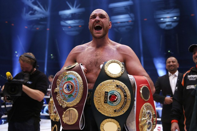 Tyson Fury... (Photo archives Reuters)