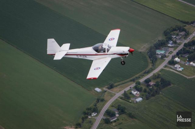 Jusqu'à tout récemment, un pilote au Canada ne... (Photo Mathieu Waddell, Archives La Presse)