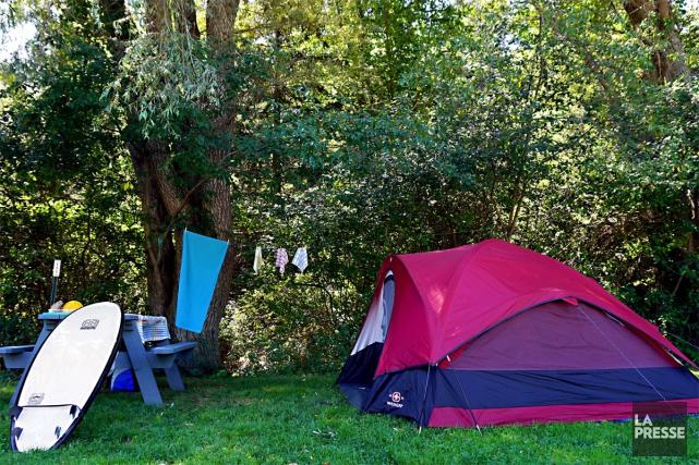 Le camping familialShel-Al Campground est situé à une... (Photo Audrey Ruel-Manseau, La Presse)