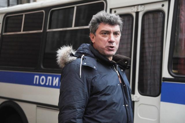 L'opposant politique Boris Nemtsov a été assassiné le... (photo ANDREY SMIRNOV, archives AFP)