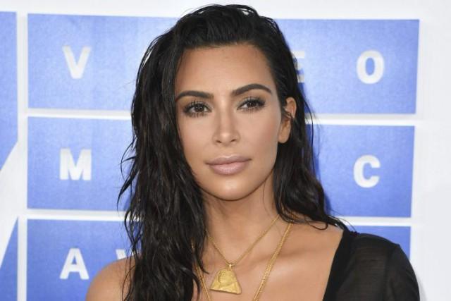Riche et sexy, Kim Kardashian, bientôt 36 ans, victime d'un vol à main armée... (PHOTO ARCHIVES AFP)