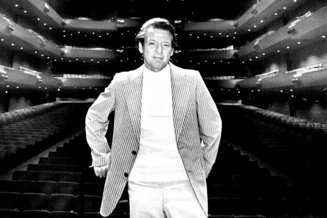 Neville Marriner en août 1978.... (PHOTO ARCHIVES AP)