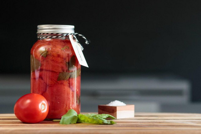 Des tomates au basilic... (Photo Hugo-Sébastien Aubert, La Presse)