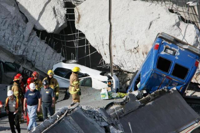 «Dix ans après l'effondrement du viaduc de la... (Photo Robert Skinner, Archives La Presse)