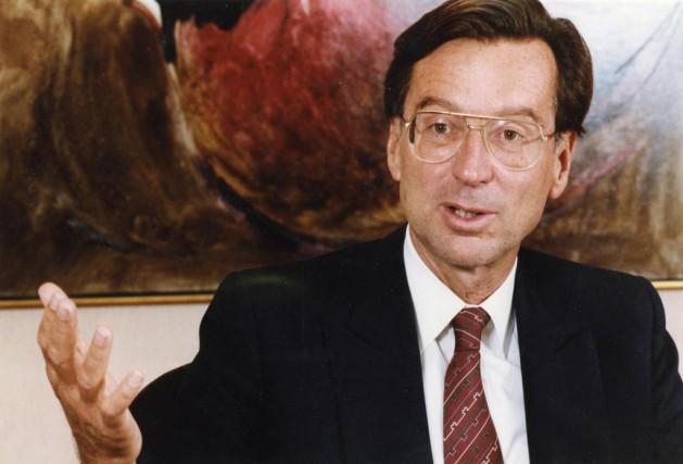 L'ex-premier ministre du Québec, Robert Bourassa, nous a... (PHOTO ROBERT MAILLOUX, ARCHIVES LA PRESSE)