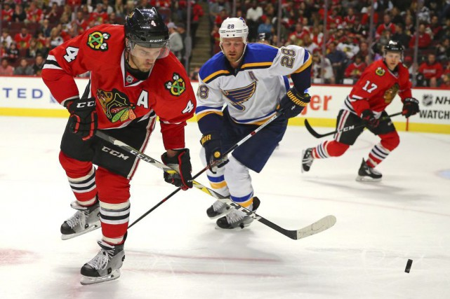 Niklas Hjalmarsson... (PHOTO Dennis Wierzbicki, USA TODAY Sports)