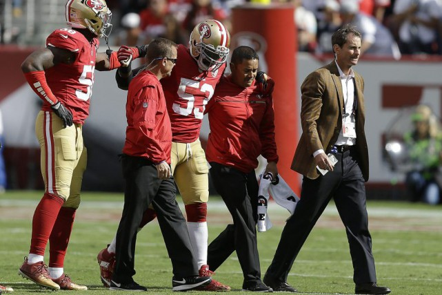 NaVorro Bowman... (PHOTO Ben Margot, AP)