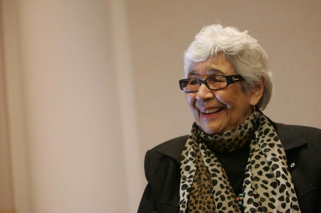 Daphne Odjig est décédée le week-end dernier.... (Archives, LeDroit)