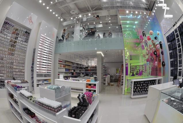 La nouvelle boutique Zazz : produits de cheveux... (Patrice Laroche)