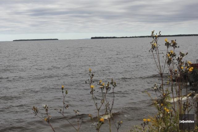 Le niveau actuel du lac Saint-Jean préoccupe plusieurs... (Photo Le Quotidien, Isabelle Tremblay)