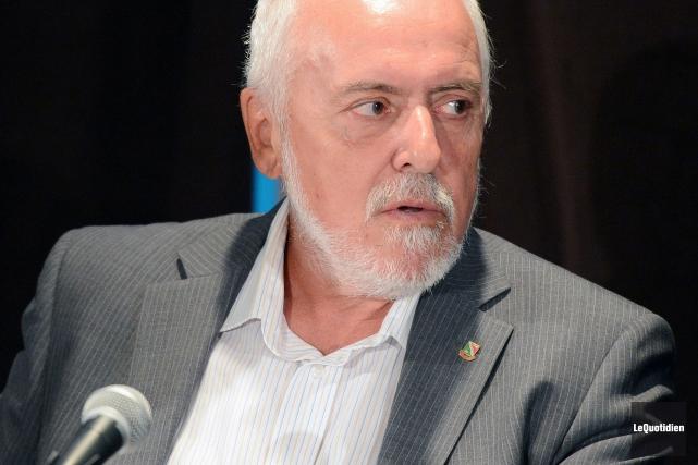 Le maire de Saint-Félicien, Gilles Potvin... (Archives Le Quotidien)