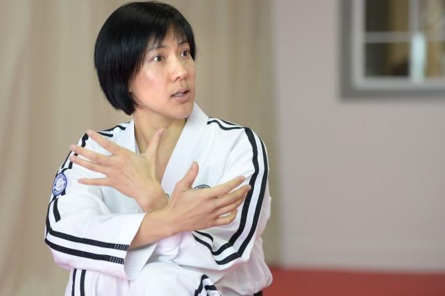 Joliette Trân est aujourd'hui maître de taekwondo comme... (Le Soleil, Jean-Marie Villeneuve)