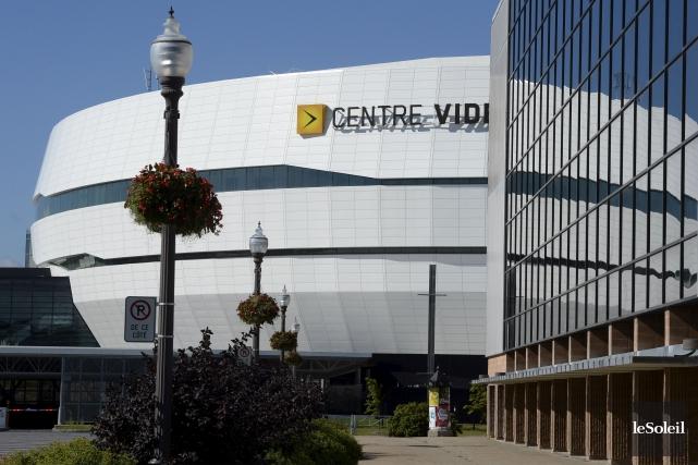 Au Centre Vidéotron, la Ville misera sur le... (Le Soleil, Jean-Marie Villeneuve)