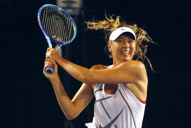 Maria Sharapova a été contrôlée positive au meldonium en... (Photo David Gray, archives REUTERS)