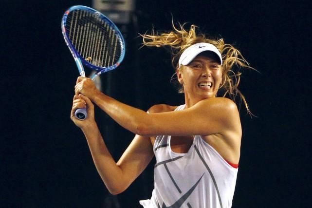Maria Sharapovapourra reprendre la compétition le 26 avril... (ARCHIVES REUTERS)