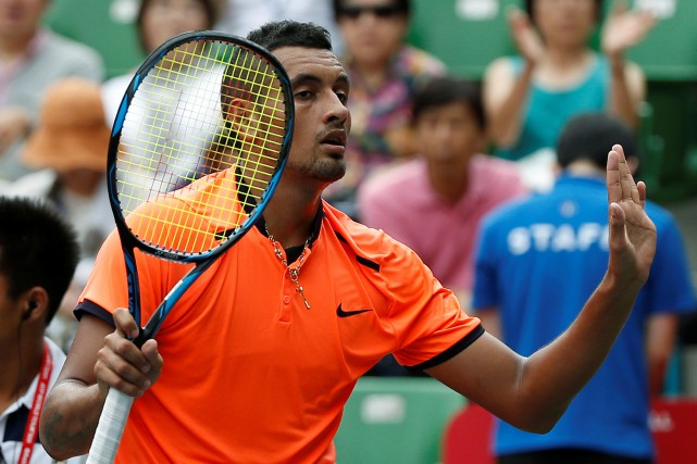 Nick Kyrgios... (Photo Issei Kato, REUTERS)