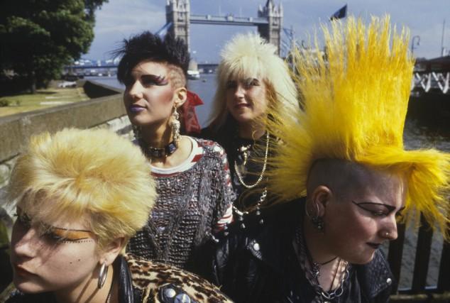Les quais de la Tamise, dans les années70.... (PHOTO FOURNIE PAR PUNK LONDON)